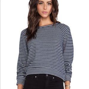 TEXTILE Elizabeth and James Striped Sweatshirt